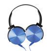 MF Product Acoustic 0106 Mikrofonlu Kablolu Kulak Üstü Kulaklık Mavi resmi