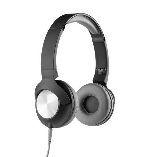MF Product Acoustic 0107 Mikrofonlu Kablolu Kulak Üstü Kulaklık Siyah resmi