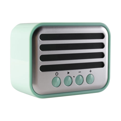 MF Product Acoustic 0145 Vintage Kablosuz Bluetooth Hoparlör Yeşil resmi