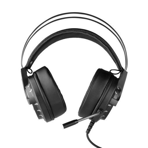 MF Product Strike 0159 Rgb Kablolu Kulak Üstü Oyuncu Kulaklığı 7.1 Usb Siyah resmi