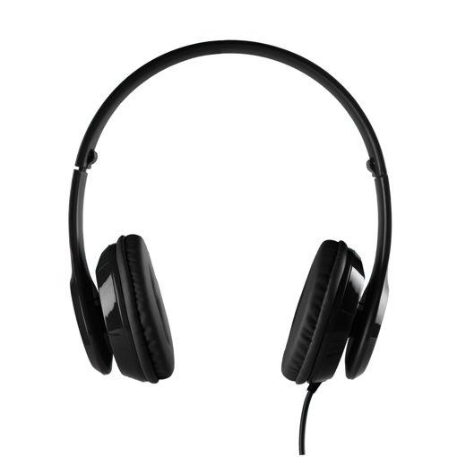 MF Product Acoustic 0135 Mikrofonlu Kulak Üstü Kablolu Kulaklık Siyah resmi