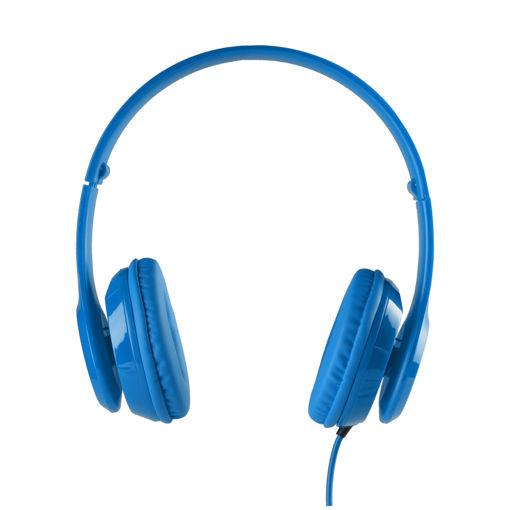 MF Product Acoustic 0135 Mikrofonlu Kulak Üstü Kablolu Kulaklık Mavi resmi
