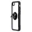 MF Product Jettpower 0299 Yüzüklü Telefon Kılıfı iP7/8/ SE 2 Uyumlu Siyah resmi