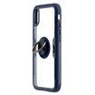 MF Product Jettpower 0305 Yüzüklü Telefon Kılıfı iP Xr Uyumlu Koyu Mavi resmi