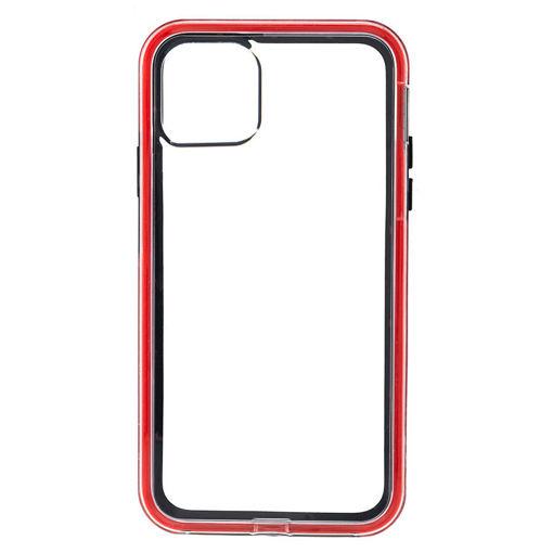 MF Product Jettpower 0310 Telefon Kılıfı iP 11 Pro Max Uyumlu Siyah-Kırmızı resmi