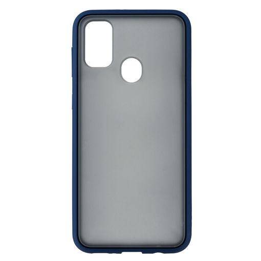 MF Product Jettpower 0313 Telefon Kılıfı Samsung Galaxy M30S Koyu Mavi resmi