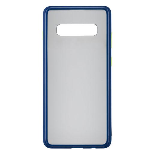 MF Product Jettpower 0325 Telefon Kılıfı Samsung Galaxy S10 Plus Koyu Mavi resmi