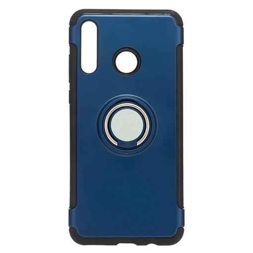 MF Product Jettpower 0336 Yüzüklü Telefon Kılıfı Huawei P30 Lite Koyu Mavi resmi