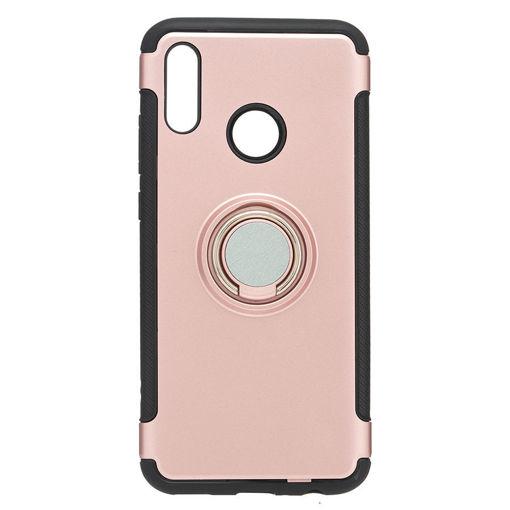 MF Product Jettpower 0340 Yüzüklü Telefon Kılıfı Huawei Psmart 2019 Rose resmi