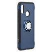 MF Product Jettpower 0340 Yüzüklü Telefon Kılıfı Huawei Psmart 2019 Koyu Mavi resmi