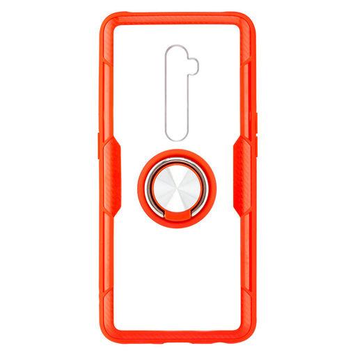 MF Product Jettpower 0351 Yüzüklü Telefon Kılıfı Oppo Reno 2 Kırmızı resmi