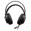 MF Product Strike 0458 Rgb Kulak Üstü Kablolu Oyuncu Kulaklığı 7.1 Usb Siyah resmi