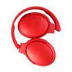 MF Product Acoustic 0236 Kablosuz Kulak Üstü Bluetooth Kulaklık Kırmızı resmi
