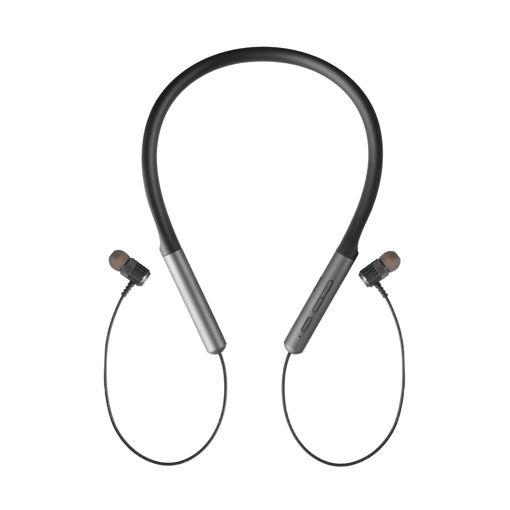 MF Product Acoustic 0237 Boyunluklu Kulak İçi Kablosuz Bluetooth Kulaklık Gri resmi