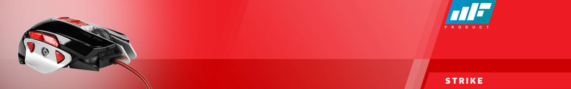 MF Product Strike 0121 Gaming Mouse Siyah - Kırmızı işte aradığın ürün!