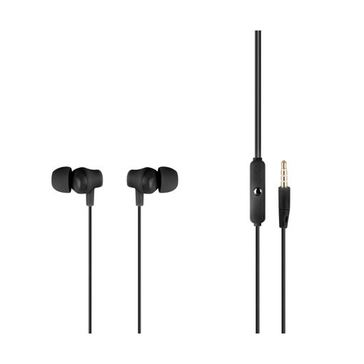 MF Product Acoustic 0084 Mikrofonlu Kablolu Kulak İçi Kulaklık Siyah resmi