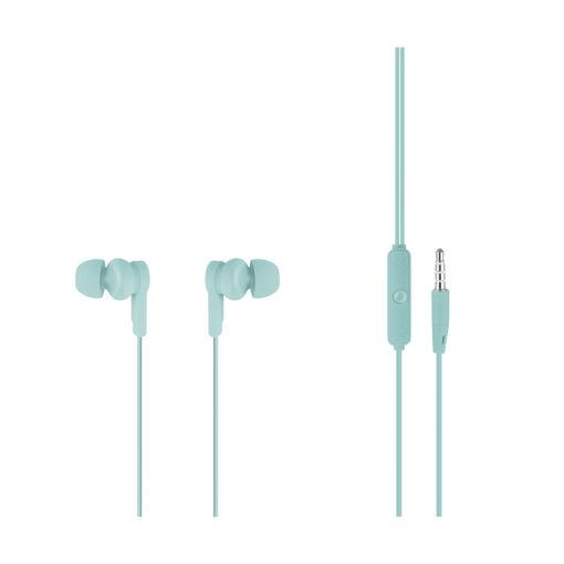 MF Product Acoustic 0089 Mikrofonlu Kablolu Kulak İçi Kulaklık Mavi resmi