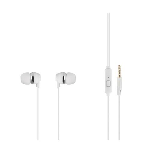 MF Product Acoustic 0092 Mikrofonlu Kablolu Kulak İçi Kulaklık Beyaz resmi
