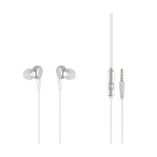 MF Product Acoustic 0093 Mikrofonlu Kablolu Kulak İçi Kulaklık Beyaz resmi