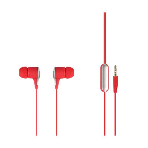 MF Product Acoustic 0094 Mikrofonlu Kablolu Kulak İçi Kulaklık Kırmızı resmi