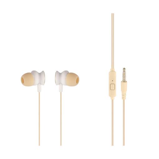 MF Product Acoustic 0099 Mikrofonlu Kablolu Kulak İçi Kulaklık Gold resmi