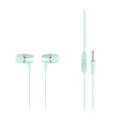 MF Product Acoustic 0100 Mikrofonlu Kablolu Kulak İçi Kulaklık Koyu Mavi resmi