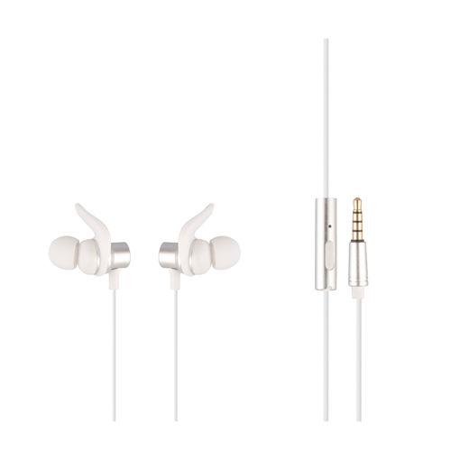 MF Product Acoustic 0155 Mikrofonlu Kablolu Kulak İçi Kulaklık Beyaz resmi