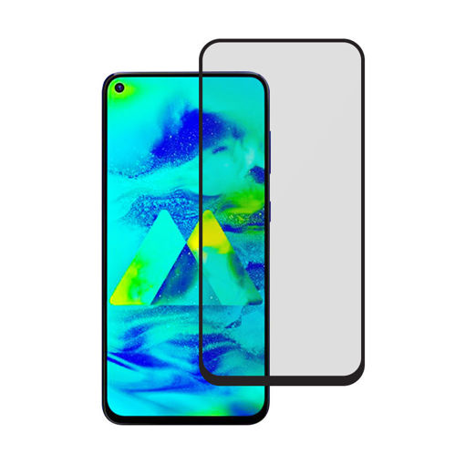 MF Product Jettpower 0431 Renkli Ekran Koruyucu Cam Samsung Galaxy M40 resmi