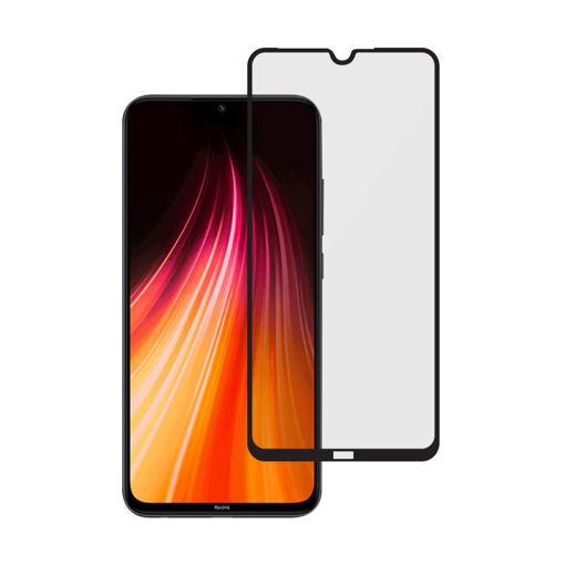 MF Product Jettpower 0439 Renkli Ekran Koruyucu Cam Xiaomi Redmi Note 8 resmi