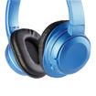 MF Product Acoustic 0127 Mikrofonlu Kulak Üstü Kablosuz Bluetooth Kulaklık Mavi resmi