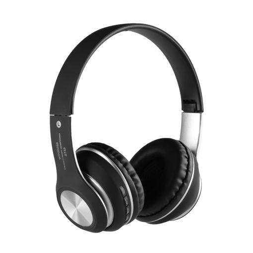 MF Product Acoustic 0126 Mikrofonlu Kulak Üstü Kablosuz Bluetooth Kulaklık Siyah resmi