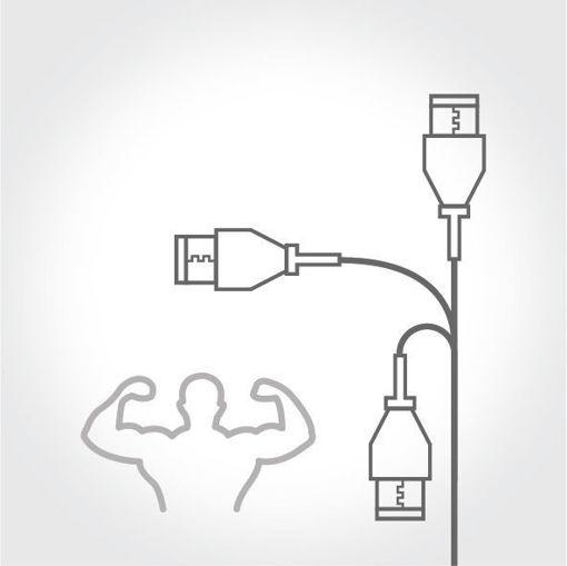 Dayanıklı Yassı Kablo