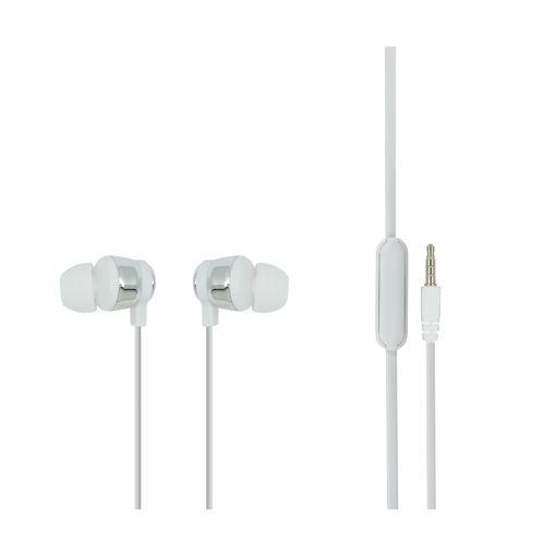 MF Product Acoustic 0096 Mikrofonlu Kablolu Kulak İçi Kulaklık Beyaz resmi