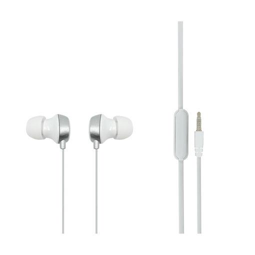 MF Product Acoustic 0098 Mikrofonlu Kablolu Kulak İçi Kulaklık Beyaz resmi