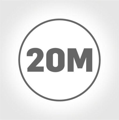 20 Metre Kablo Uzunluğu