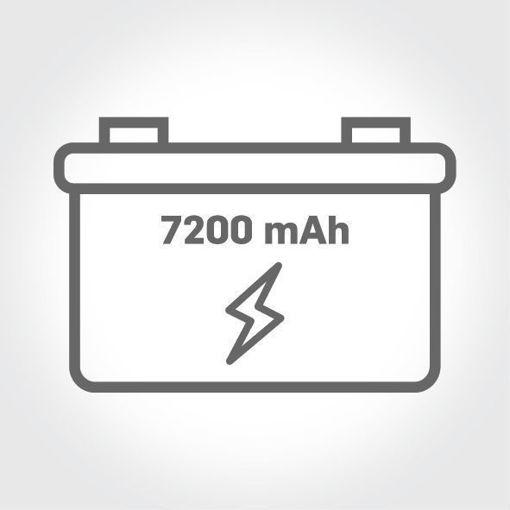 7200 mAh Güç