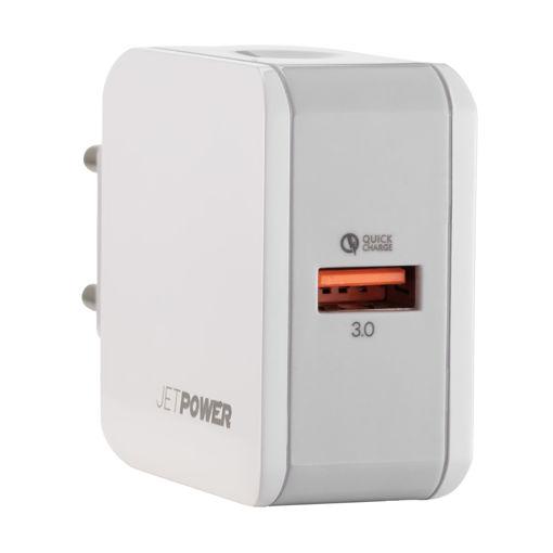 MF Product Jettpower 0353 Duvar Şarjı Tek Usb Qc 3.0 Beyaz resmi