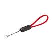 MF Product Jettpower 0047 Metal Başlıklı Örgülü 3A Micro Usb Hızlı Şarj Kablosu 20 cm Kırmızı resmi