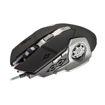 MF Product Strike 0110 Kablolu Rgb Gaming Mouse + Mouse Pad Gri resmi