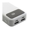 MF Product Jettpower 0068 10000 mAh Led Ekranlı Powerbank Beyaz resmi