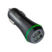MF Product Jettpower 0363 Araç Şarjı Işıklı Çift Usb 5V2A Siyah resmi