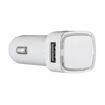 MF Product Jettpower 0362 Araç Şarjı Işıklı Çift Usb 5V2A Beyaz resmi