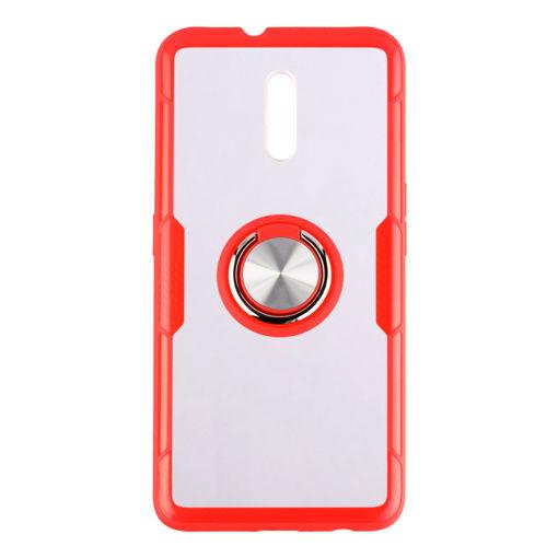 MF Product Jettpower 0350 Yüzüklü Telefon Kılıfı Oppo Reno Kırmızı resmi
