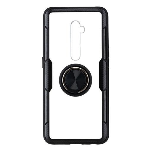MF Product Jettpower 0351 Yüzüklü Telefon Kılıfı Oppo Reno 2 Siyah resmi