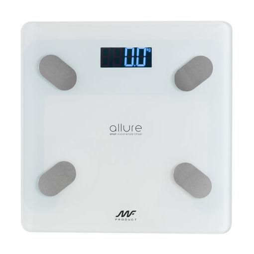 MF Product Allure 0287 Vücut Analizli Akıllı Tartı Beyaz resmi