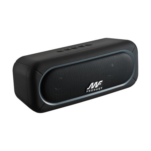 MF Product Acoustic 0124 Taşınabilir Kablosuz Bleutooth Hoparlör Siyah resmi