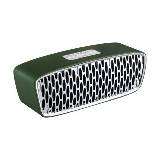 MF Product Acoustic 0148 Kablosuz Bluetooth Hoparlör Yeşil resmi