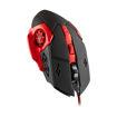 MF Product Strike 0110 Kablolu Rgb Gaming Mouse + Mouse Pad Kırmızı resmi