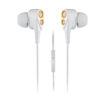 MF Product Acoustic 0152 Mikrofonlu Kablolu Kulak İçi Kulaklık Beyaz-Gold resmi