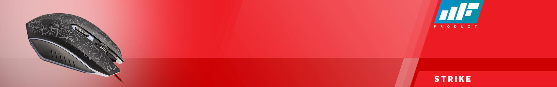 MF Product Strike 0109 Kablolu Rgb Gaming Mouse + Mouse Pad Kırmızı, tam da hayal ettiğin gibi!